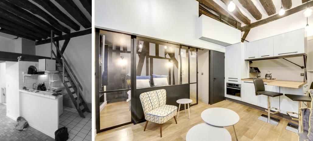 Appartement 65m2 - Toulouse Décoration d'une pièce de vie