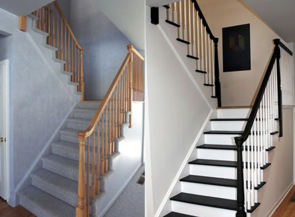 Maison 125m2 - Moissac Décoration d'un escalier