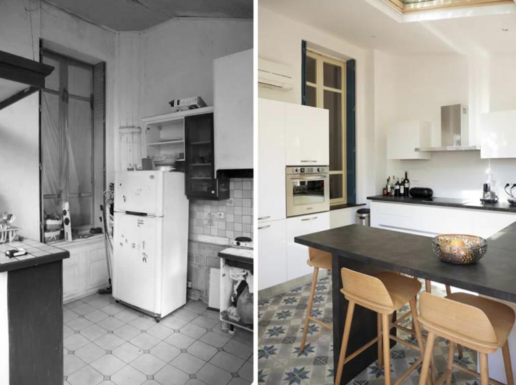 Appartement 60m2 - Albi Décoration d'une cuisine