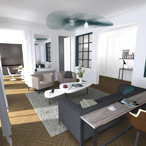 Image appartement 3D