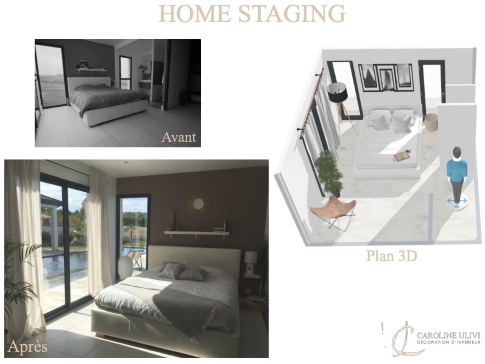 Maison de 250m2 - Montauban Home staging