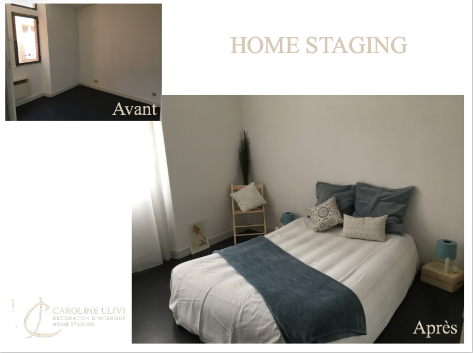 Appartement 55m2 - Montauban Home staging